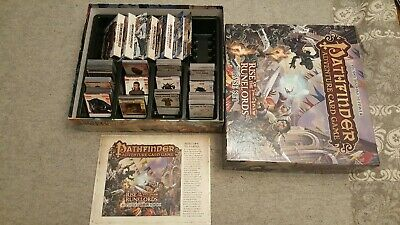 RISE OF THE RUNELORDS Pathfinder Adventure Card Game Base Set + 6 NEW DECKS