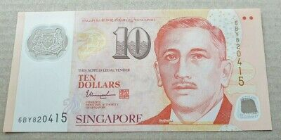 SINGAPORE $10 Dollars ND 2018 P48 Sports Inverted Triangle UNC Polymer Banknote