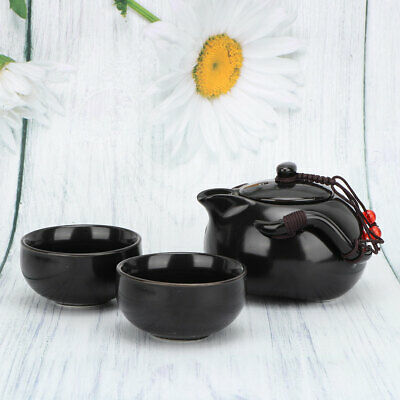 Chinese Traditional Kung Fu Tea Porcelain Teapot Cup Kit Portable Travel Tea Set