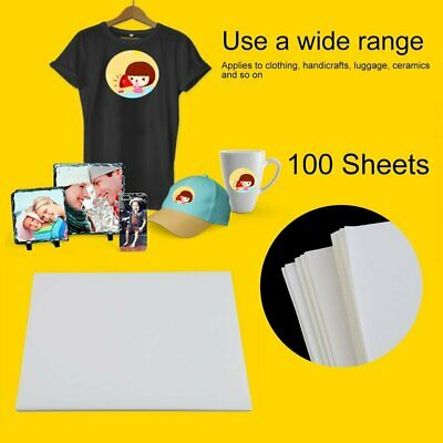 100 Blatt T-Shirt Thermal Matrizenpapier Tattoo Thermopapier DIN A4