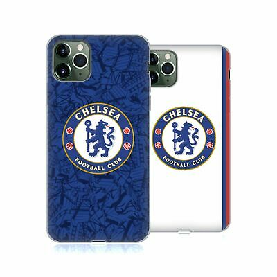 OFFICIAL CHELSEA FOOTBALL CLUB 2019/20 KIT SOFT GEL CASE FOR APPLE iPHONE PHONES