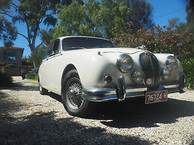 1960 Jaguar Mk2 - 3.4 manual with overdrive - Consider a trade