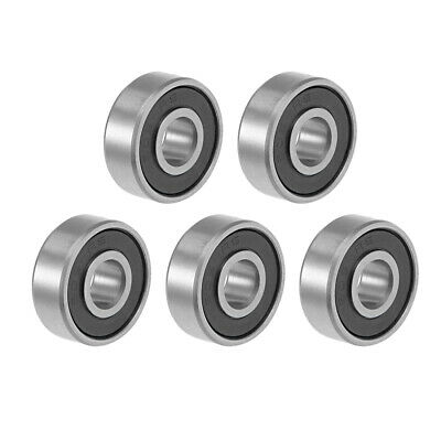 606-2RS Ball Bearing 6x17x6mm Double Sealed ABEC-3 Bearings 5pcs