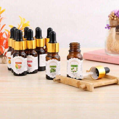 1xEssential Aromatherapy Oils Natural 10ml Pure Oil Fragrances Diffuser Burner
