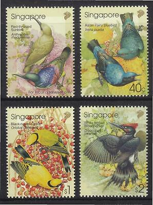 Singapore 2002 Malaysia Joint Issue Birds Comp. Set 4 Stamps Sc#1014-1017 Mint