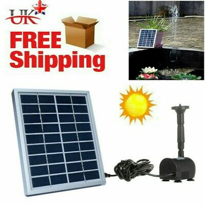 Bermuda Solar Pump /& Solar Panel for Buckingham Water Feature BER0565
