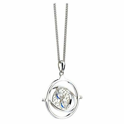 Harry Potter Crystal Time Turner Necklace Pendant - Boxed Sterling Silver