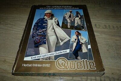 Quelle  Katalog  Herbst - Winter 1981/1982
