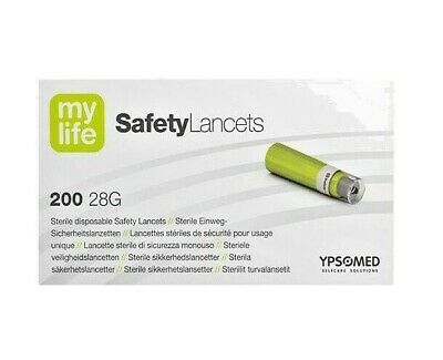 MyLife Safety Lancets 28G 1.5mm (200) VAT FREE
