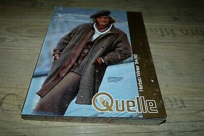 Quelle  Katalog Herbst - Winter 1984/1985
