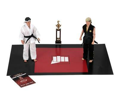 "The Karate Kid - 8"" Clothed Figures - Tournament 2 Pack - Daniel vs Johnny -NECA"