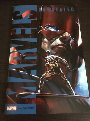 Marvels: Annotated #3 Dell'otto Galactus Silver Surfer Variant