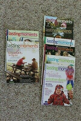 2005 & 2006 Creative Memories Lasting Moments Ideas For Scrapbook Magazines
