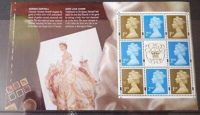GB 2003  A Perfect Coronation DX31 Prestige Booklet Pane DP343 MNH