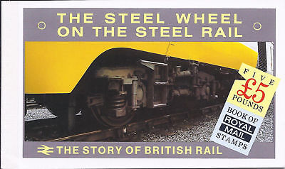 GB 1986 DX7 The Story of British Rail Prestige Booklet Cat £10