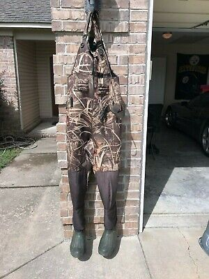 677023f566532 Drake Waterfowl Mst Eqwader Wading System Camo Chest Waders Size 12 R
