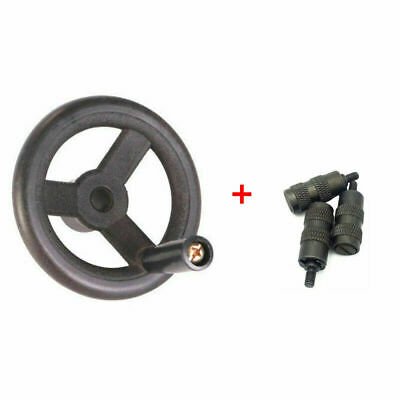 Bridgeport Milling Machine Parts (1×Feed Hand Wheel) + (3×Reverse Knob Assembly)