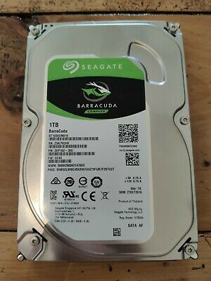 Seagate Barracuda 1TB Harddrive ST1000DM010