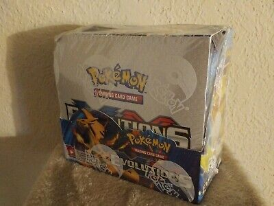 NEW Pokemon TCG Evolutions Booster Box Factory Sealed - 36 PACKS English