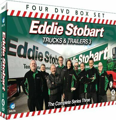 Eddie Stobart Trucks And Trailers - The Complete Series 3 (4DVD C... - DVD  E4VG