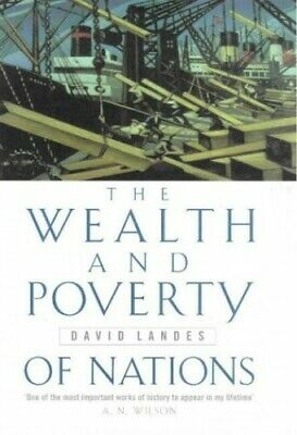 Wealth And Poverty Of Nations by Landes, David S. Hardback Book The Fast Free