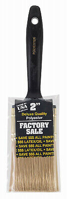 New Wooster Factory Varnish Brush,No P3972-2 Wooster Brush