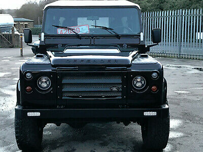 1993 Land Rover Defender 130 CREW HICAP DOUBLE CAB SANTORINI BLACK REBUILT 1993 LANDROVER DEFENDER 130 HICAP DOUBLE CAB TDi SANTORINI BLACK CHASSIS UPBUILD