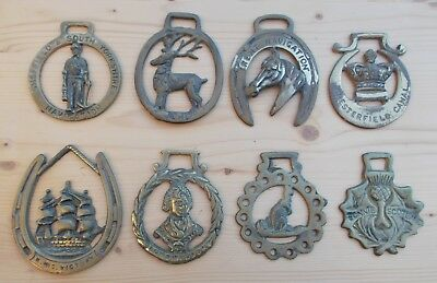Horse brass collection navigation Lord Nelson HMS Victoria Kangaroo RARE