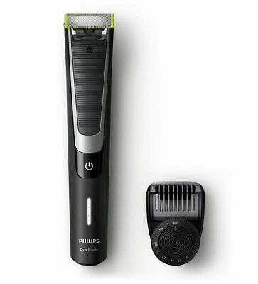 Philips One Blade Pro Handle Qp6510/20 - New Shaver Trim Edge Adjustable Comb