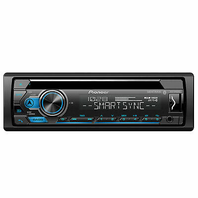 pioneer deh-s4120bt cd receiver with am/fm tuner