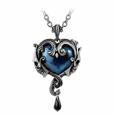 Cristal Étain Angleterre Rouge Alchemy Gothic Wounded Amour Collier Ras Du Cou
