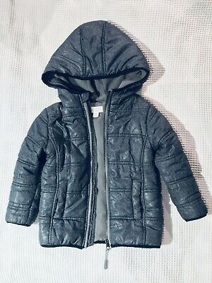 Pumpkin Patch Unisex Size3 Puffer Jacket With Warm Fleece Lining,Great Condition