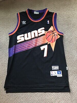best sneakers 5e64f 99321 Mitchell & Ness Kevin Johnson Phoenix Suns Black Throwback ...
