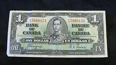 1937  One  Dollar Bank Note  -  $1.00   -   Very Nice Collectible Note
