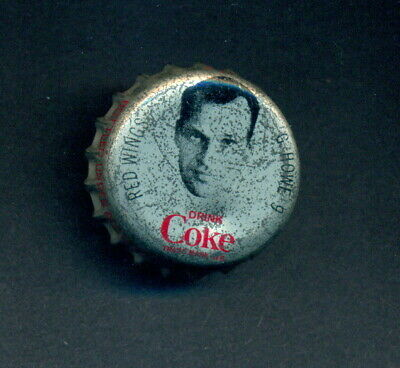 1964-65 COCA-COLA COKE BOTTLE 108 CAPS COMPLETE HOCKEY SET W