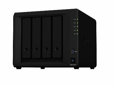 Synology DS418play 16TB 4 Bay NAS Solution   Installed with 4 x 4TB Western D...