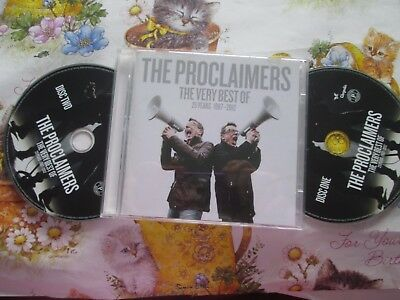 The Proclaimers The Very Best Of (25 Years 1987-2012) EMI ‎UK 2x CD Album Set