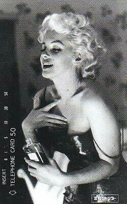 Japanese Phonecards -  Marilyn Monroe -  Mint Condition Rare  W23