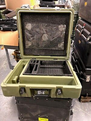 Hardigg Pelican Military Lap Top Case with extra carry case inside