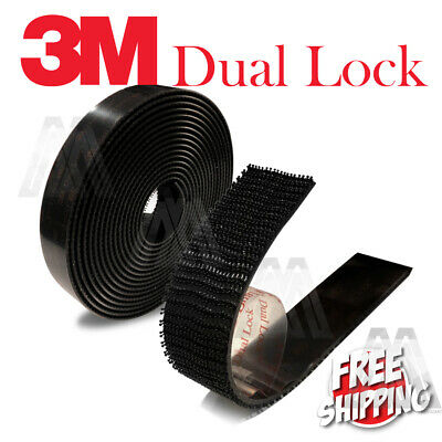 3M Sj3550 Dual Lock Tape 5 X Stronger Than Hook Loop Adhesive