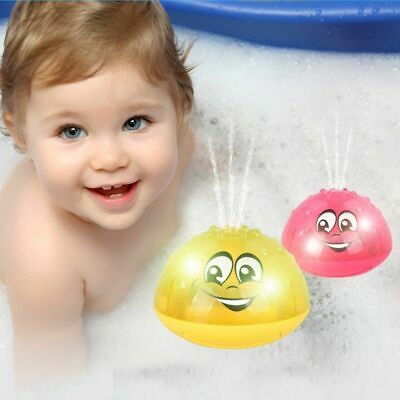 Funny Infant Bath Toys Baby Electric Induction Sprinkler Ball Light Music Water