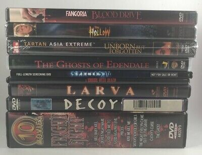 Lot 18 Horror & Cult DVD Movies Some Sealed