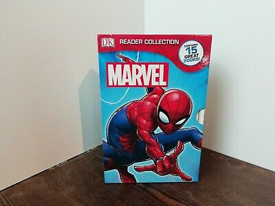 Marvel Dk Readers Collection 15 Book Set Including Spiderman And X Men