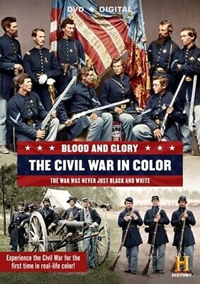 BLOOD AND GLORY THE CIVIL WAR IN COLOR New Sealed DVD History Channel