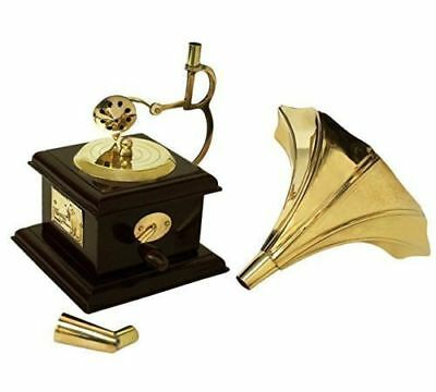 CHRISTMAS OFFER ! Vintage Theme Antique Wooden Showpiece Gramophone Phonograph