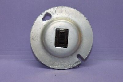 "NEW Vintage Arrow-H&H Light Toggle Switch for 3-1/4"" Junction Box - 3-Way"