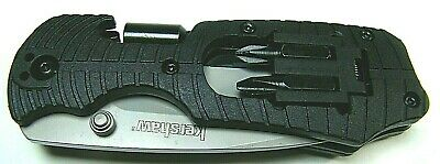 Kershaw Select Fire 1920 MULTI FUNCTION KNIFE w/Hex Drive /Four Bits ($53 knife)