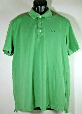 d0b38ad164416 LACOSTE DEVANLAY VINTAGE Washed Polo Shirt Long Sleeve Alligator ...
