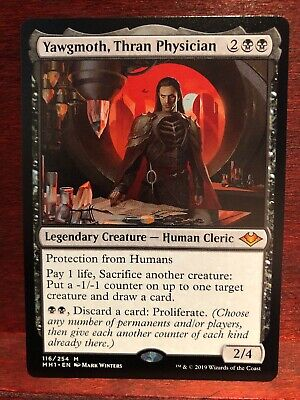 Yawgmoth, Thran Physician - Mint/NM Modern Horizons - Mythic - NM MTG MH1 Magic