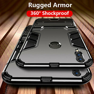 For Huawei Honor 10 20 Lite 7A 8A 8S 8X Shockproof Armor Rugged Stand Case Cover